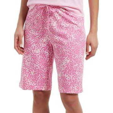 Stipple Dot Sleep Bermuda Sleep Shorts