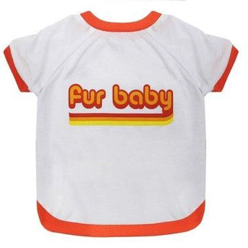 Pets First LaurDIY Pet Tee Shirt for Dogs and Cats - Fur Baby