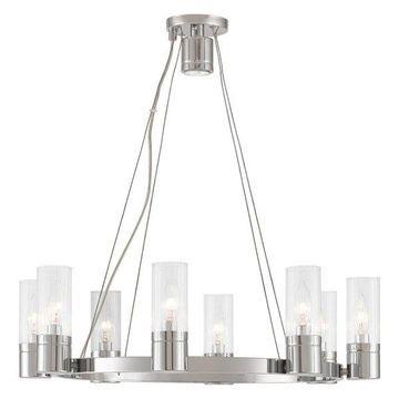 Livex Lighting Midtown Chandeliers, Chrome