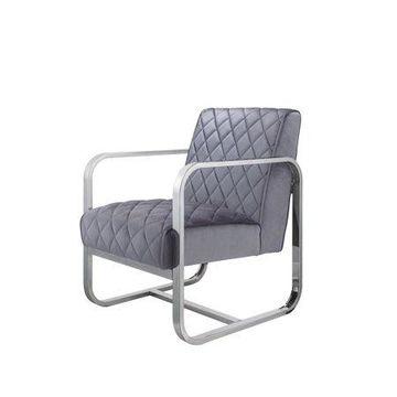 ACME Tasmine Accent Chair in Grey