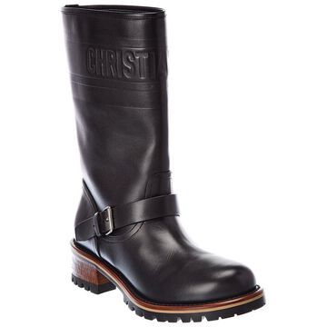 Dior Quest Leather Boot