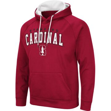 Colosseum Men's Stanford Cardinal Cardinal Pullover Hoodie