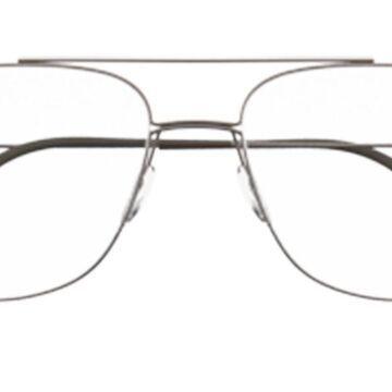 Silhouette 5525 6440 Men's Glasses Brown Size 54 - Free Lenses - HSA/FSA Insurance - Blue Light Block Available