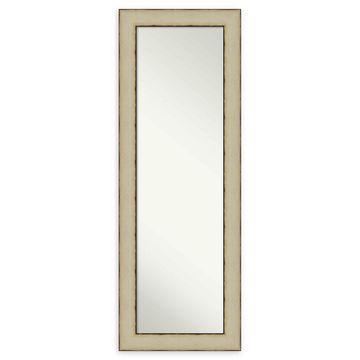 Amanti Art Rusted Cream Framed On The Door Mirror
