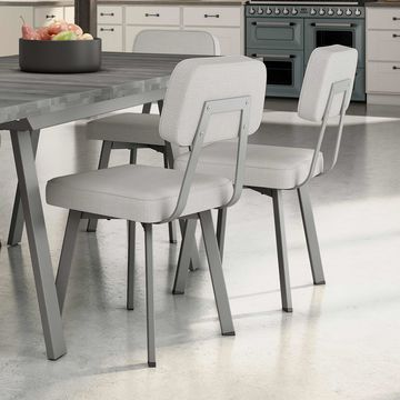 Amisco Clarkson Metal Chair