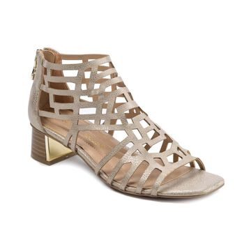 Andrew Geller Hillary Women's Sandals London Silver