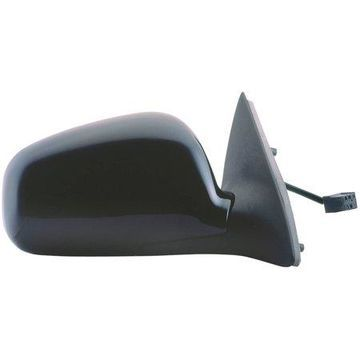 61559F - Fit System Passenger Side Mirror for 98-02 Lincoln Town Car, black, foldaway, Heated Power