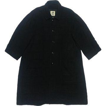 Issey Miyake Black Wool Coats