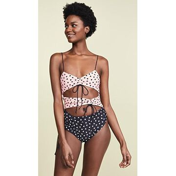 For Love & Lemons Claudia One Piece Swimsuit