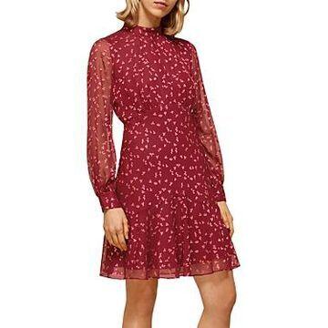 Whistles Falling Leaves Printed Dress