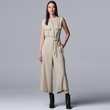 Women's Simply Vera Vera Wang Utility Jumpsuit