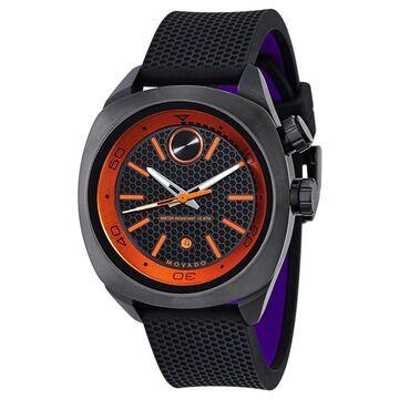 Movado Men's 3600212 'Bold' Black Silicone Watch (Movado Men's 3600212 Silicone)