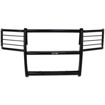G263338MB Go Rhino Grille Guard, steel go rhino 3000 series stepguard powdercoated black