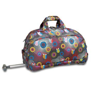 J World Christy Wheeled Duffel