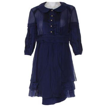 Temperley London \N Navy Silk Dresses