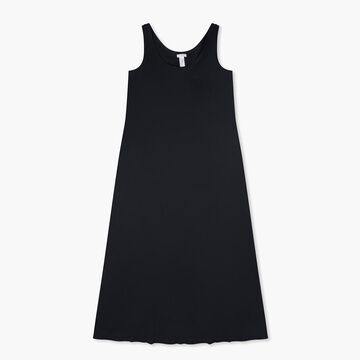 HANRO& cotton deluxe long tank gown