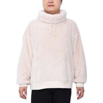 Derek Heart Trendy Plus Size Plush Pullover Top