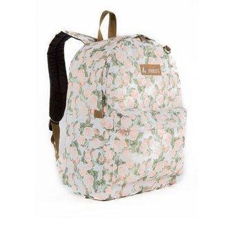 Everest Classic Pattern Backpack, Vintage Floral, One Size