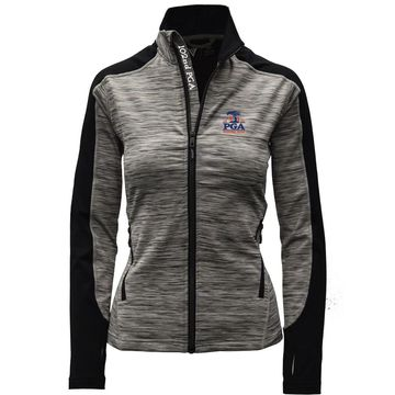 Women's Levelwear Gray 2020 PGA Championship Aura Full-Zip Jacket