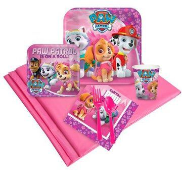 Paw Patrol Girl Party Pack (24)