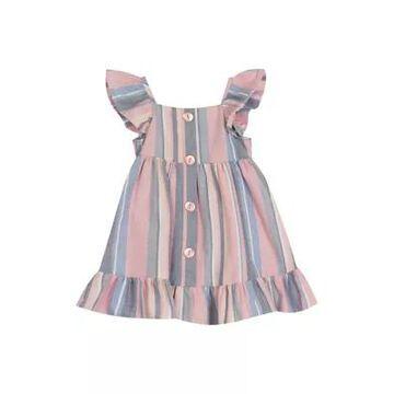 Rare Editions Girls' Toddler Girls Striped Dress - -