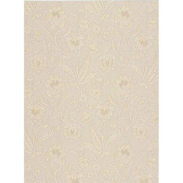 Brewster Torcello Beige Floral Wallpaper