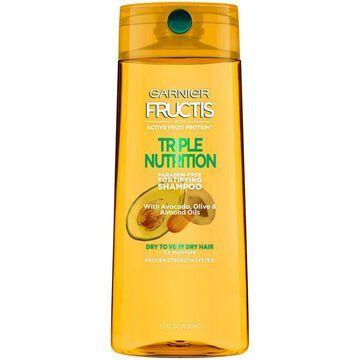 Garnier Fructis Triple Nutrition Shampoo, 650 ml
