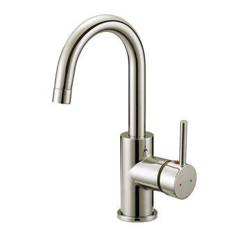 Design House 547570 Single Handle 1.2 GPM Bar Faucet - Satin Nickel