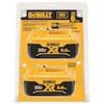 DEWALT 2-Pack 20-Volt 6-Amp-Hours/6-Amp-Hours Power Tool Battery Kit