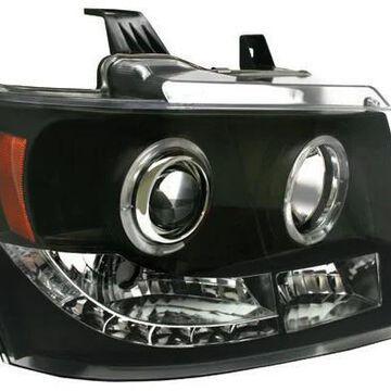 2012 Chevy Suburban IPCW Headlights in Black