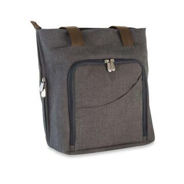 Picnic Time Sonoma Wine and Cheese Tote in Grey