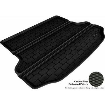 3D MAXpider 2010-2015 Hyundai Tucson All Weather Cargo Liner in Black with Carbon Fiber Look