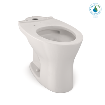 TOTO Drake Dual Flush Elongated Toilet Bowl with CEFIONTECT, Colonial White - CT746CUG#11