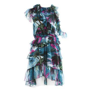 Msgm Blue Polyester Dresses