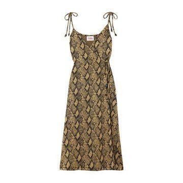 SOLID & STRIPED Midi dress