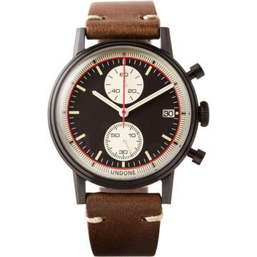 NEW Undone Urban Vintage Auta Chronograph Black PVD | AUTHORIZED DEALER