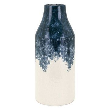 IMAX Home 60532 Nirra 18 1/2 Inch Tall Handcrafted Ceramic Vase