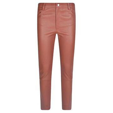 DROMe Slim Fit Plain Trousers