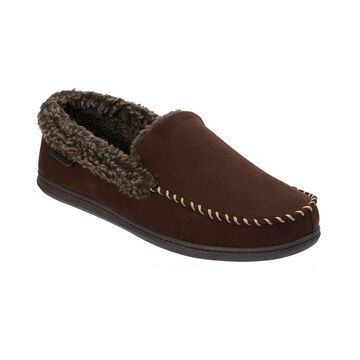 Dearfoams Eli Moccasin with Whipstitch
