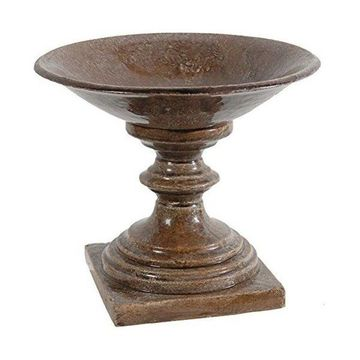 A&B Home 69380 Footed Centerpiece Bowl, 12