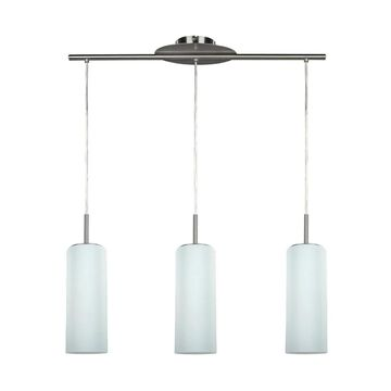 Canarm Toni Pewter Modern/Contemporary Opal Glass Cylinder Large (Larger Than 22-in) Kitchen Island Light | IPL379A03BPT
