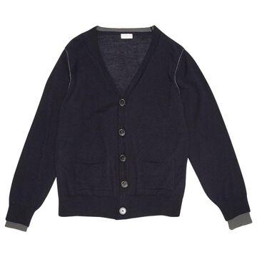 Dries Van Noten Blue Wool Knitwear & Sweatshirts