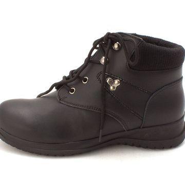 Wanderlust Womens Boston Leather Closed Toe Ankle