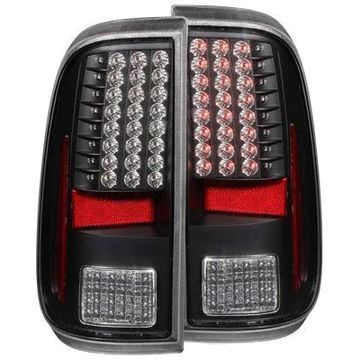 Anzo USA LED Tail Lights in Black, LED Tail Lights - 311127