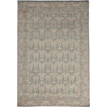 Solo Rugs One-of-a-kind Oushak Hand-knotted Area Rug 6' x 9'