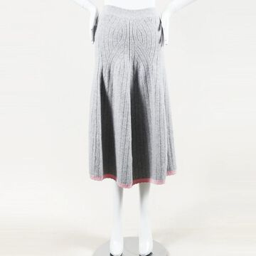 Victoria Beckham Pink Wool Skirts