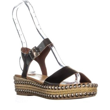 Andre Assous Womens Vergie Fabric Open Toe Special Occasion Espadrille Sandals