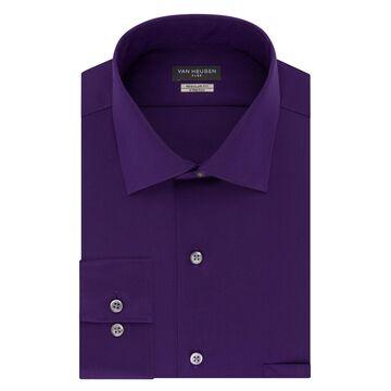 Mens Van Heusen Flex Collar Regular-Fit Stretch Dress Shirt