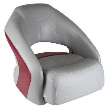 Wise 8WD1217-0035 Sport Series Bucket Seat with Flip-Up Bolster