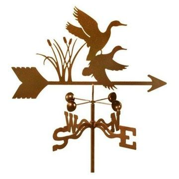 EZ Vane Ducks Bird Weathervane With Deck Mount